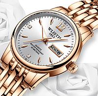Женские часы, покрытые розовым золотом код 467