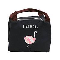 Ланч бэг Фламинго 5.3 л черный (LB-3304), фото 1