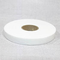 Флизелин нитепрошивной резаный по косой белый 1,0см (70м)