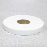Флизелин нитепрошивной резаный по косой белый 1,5см (70м)