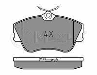 Meyle 025 214 7919 Колодки тормозные передние Volkswagen T-4
