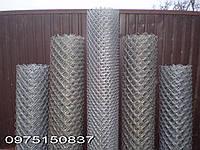 Сетка Рабица. забор сетка рабица оцинкованная. Яч. 35*35мм высота 0.50м