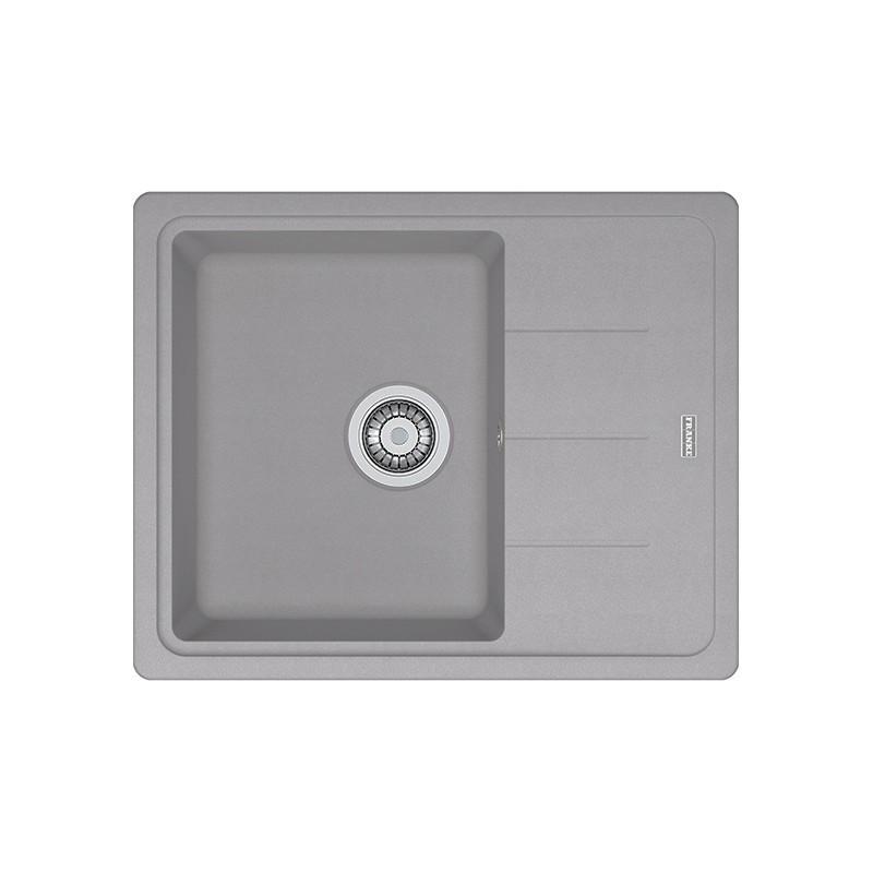 Кухонная мойка Franke Basis BFG 611-62 серый камень