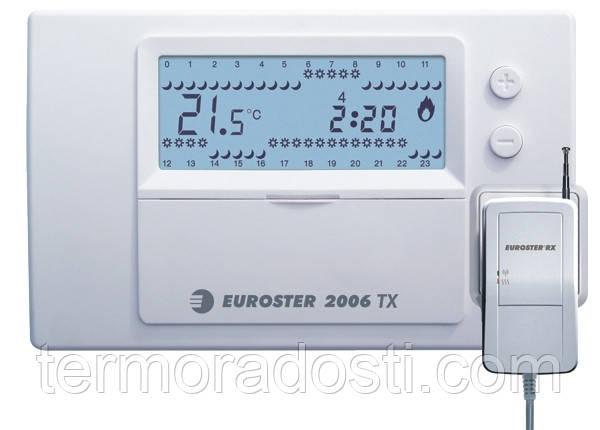 Euroster 2006TXRX программатор беспроводной для котла
