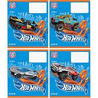 Тетрадь школьная Kite Hot Wheels HW19-232, 12 листов, клетка