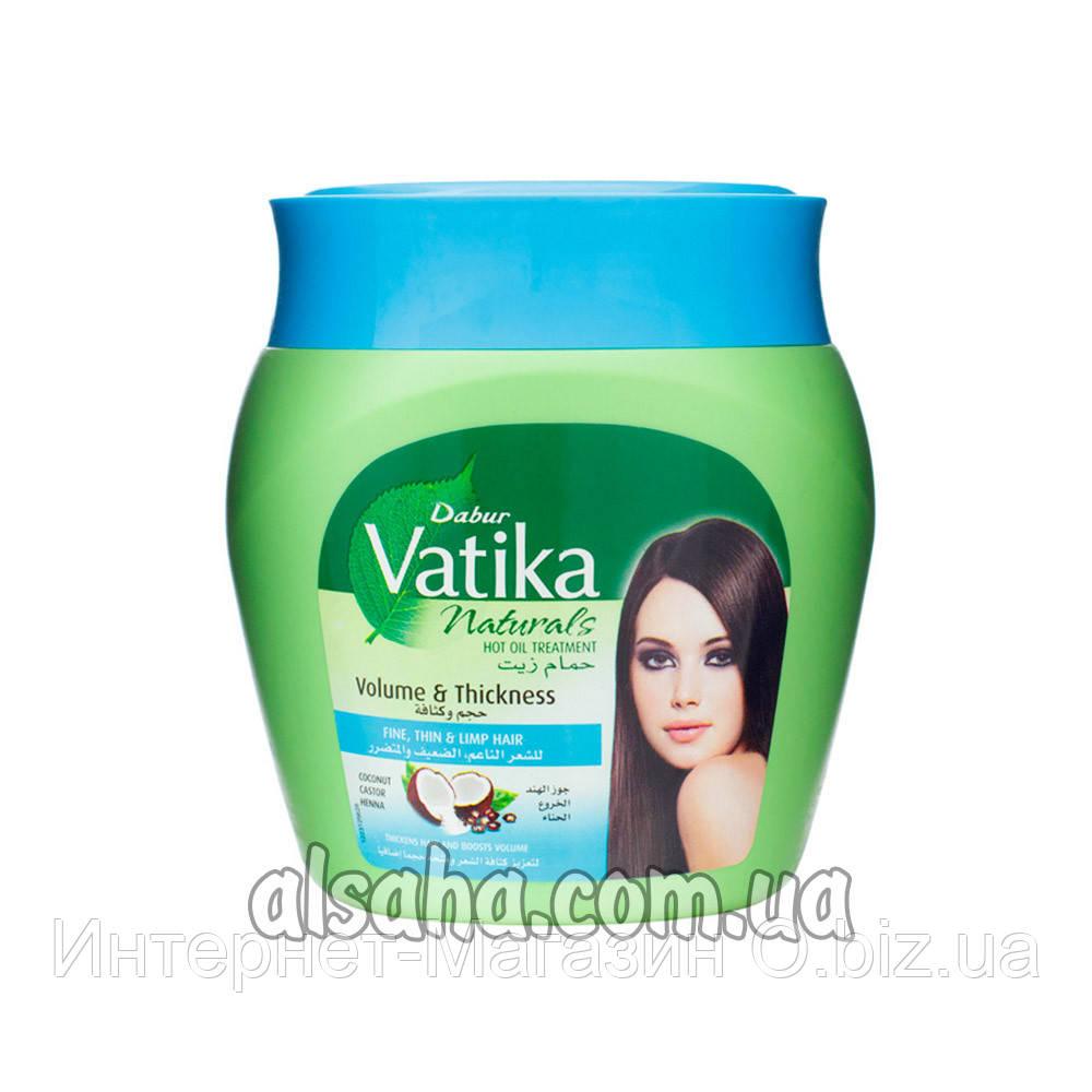 Маска для Волос с Кокосом, касторкой и хной Vatika