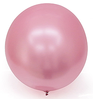 Шар Bubbles BL хром розовый Китай, 75 см (30')
