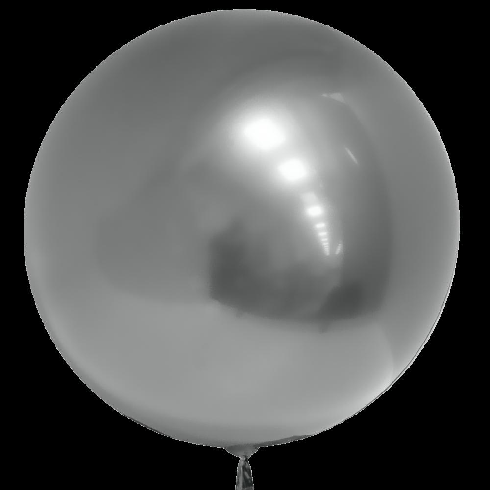Шар Bubbles BL хром серебро Китай, 75 см (30')