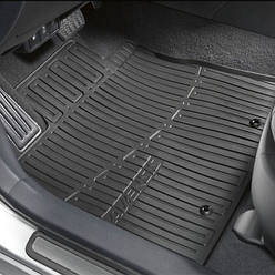 Коврики салона резиновые Toyota Avensis 3 Sedan 2009-2012