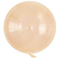 Шар Bubbles BL оранжевый кристалл Китай, 50 см (20')