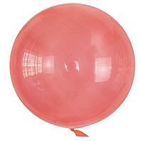 Шар Bubbles BL красный кристалл Китай, 50см (20')