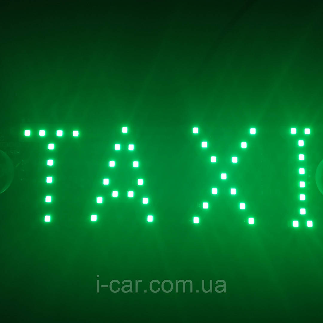 Наклейка на стекло ТAXI