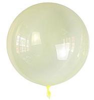 Шар Bubbles BL желтый кристалл Китай, 50см (20')