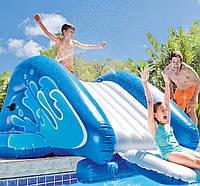 Надувной игровой центр - водная горка Intex 58849