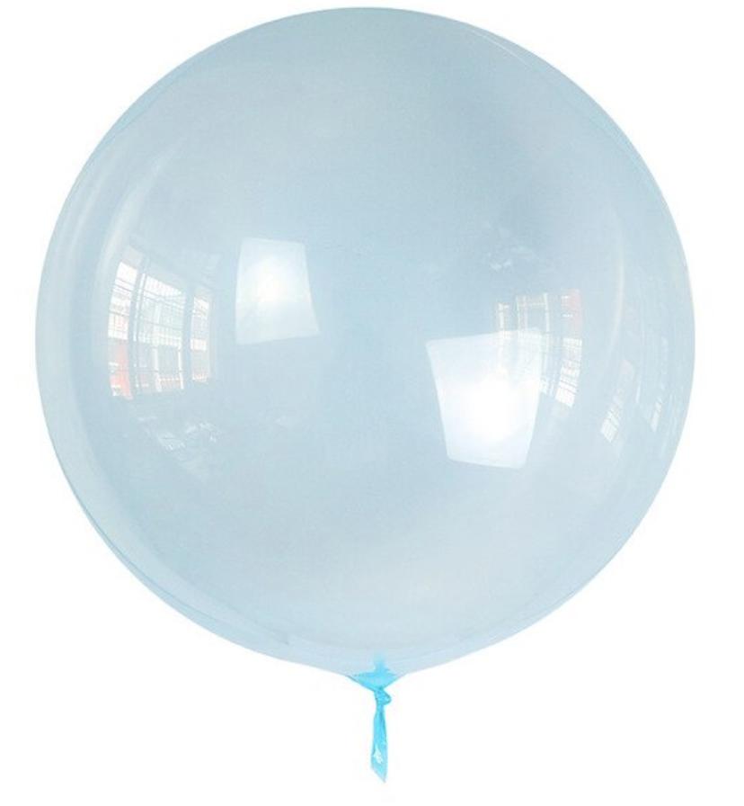 Шар Bubbles BL голубой кристалл Китай, 50 см (20')