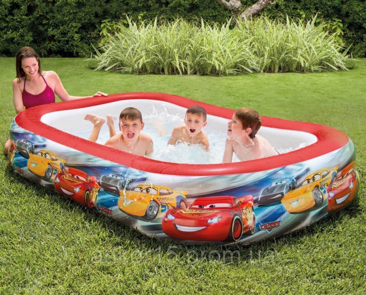 Дитячий надувний басейн Intex 57478 Тачки