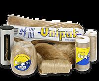 Льняные волокна Unigarn (40г  катушка в контейнере )