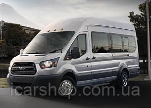 Скло Ford Transit 14 - L3 суцільне салону ліве SafeGlass