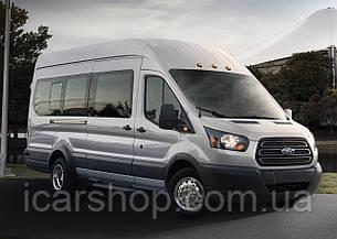 Скло Ford Transit 14 - L3 суцільне салону праве SafeGlass