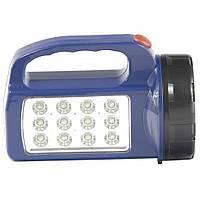 Ліхтар пошуковий, 1 + 12 LED, 3хАА // Stern