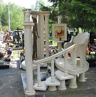 Мраморный памятник М-217