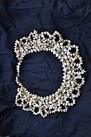 Ожерелье женское из соломы