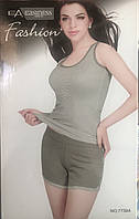 Жіночий комплект шорти і майка арт 7739