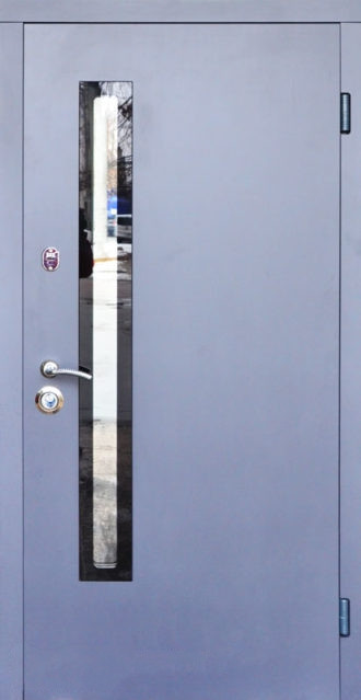 Входные двери Стилгард Серия RESISTE AV-1 Grey Glass New