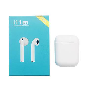 Bluetooth наушники Flying-Digital Tech.Co.Ltd. i11WT V5.0 Blue Gift box TWS Stereo White