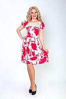 Нежное летнее женское платье из штапеля, фото 1