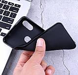 Чохол-бампер силіконовий з матовим Soft-touch покриттям для DOOGEE Y8 / Є скло /, фото 6