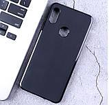 Чохол-бампер силіконовий з матовим Soft-touch покриттям для DOOGEE Y8 / Є скло /, фото 2