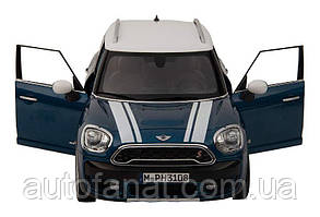 Оригинальная модель автомобиля MINI Cooper S Countryman (F60), Island Blue, Scale 1:18 (80432447940)