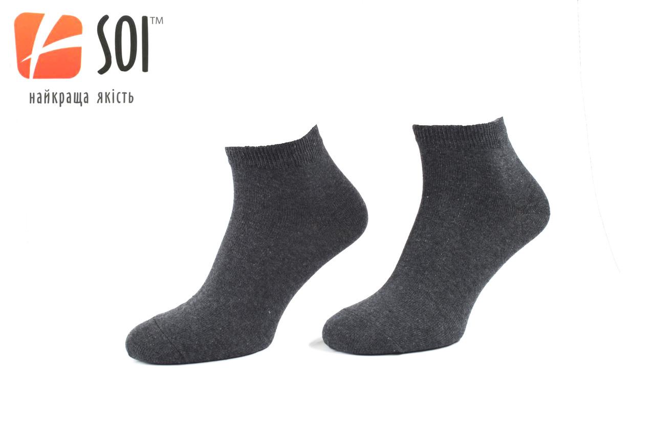 Шкарпетки спорт чол.27р.(41-42) Графіт