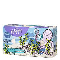 Салфетки бумажные универсальные двухслойные Bella Baby Happy