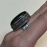 Ультра-синий лабрадор натуральный кольцо лабрадор в серебре. Кольцо с лабрадором 17 размер Индия!, фото 4