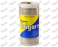 Контейнер для 80г мотка  льняных волокон Unigarn