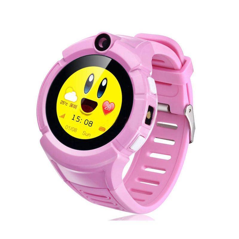 Детские умные GPS часы Q360 Pink