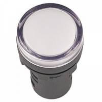 Лампа AD-22DS LED-матрица d22мм белый 110В AC/DC