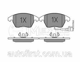 Meyle 025 235 8720/W Колодки тормозные передние Volkswagen Caddy
