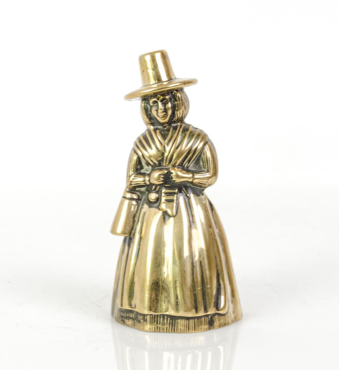 Коллекционный колокольчик, бронза, Англия, 10 см