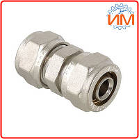 Фитинг обжимной прямой Valtec, 20 мм (VTm.303.N.002020)