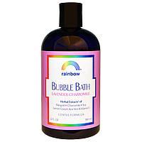 Пена для ванны с лавандой и ромашкой, нежная формула, Rainbow Research, 12 жидких унций (360 мл)