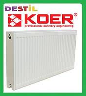 Стальной Панельный Радиатор Koer 500x400 Боковое Подключение
