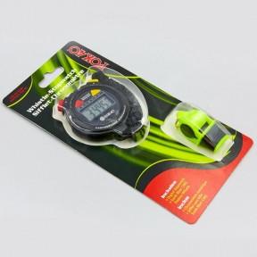 Набор для тренера: секундомер, свисток FOX40 6906-0400