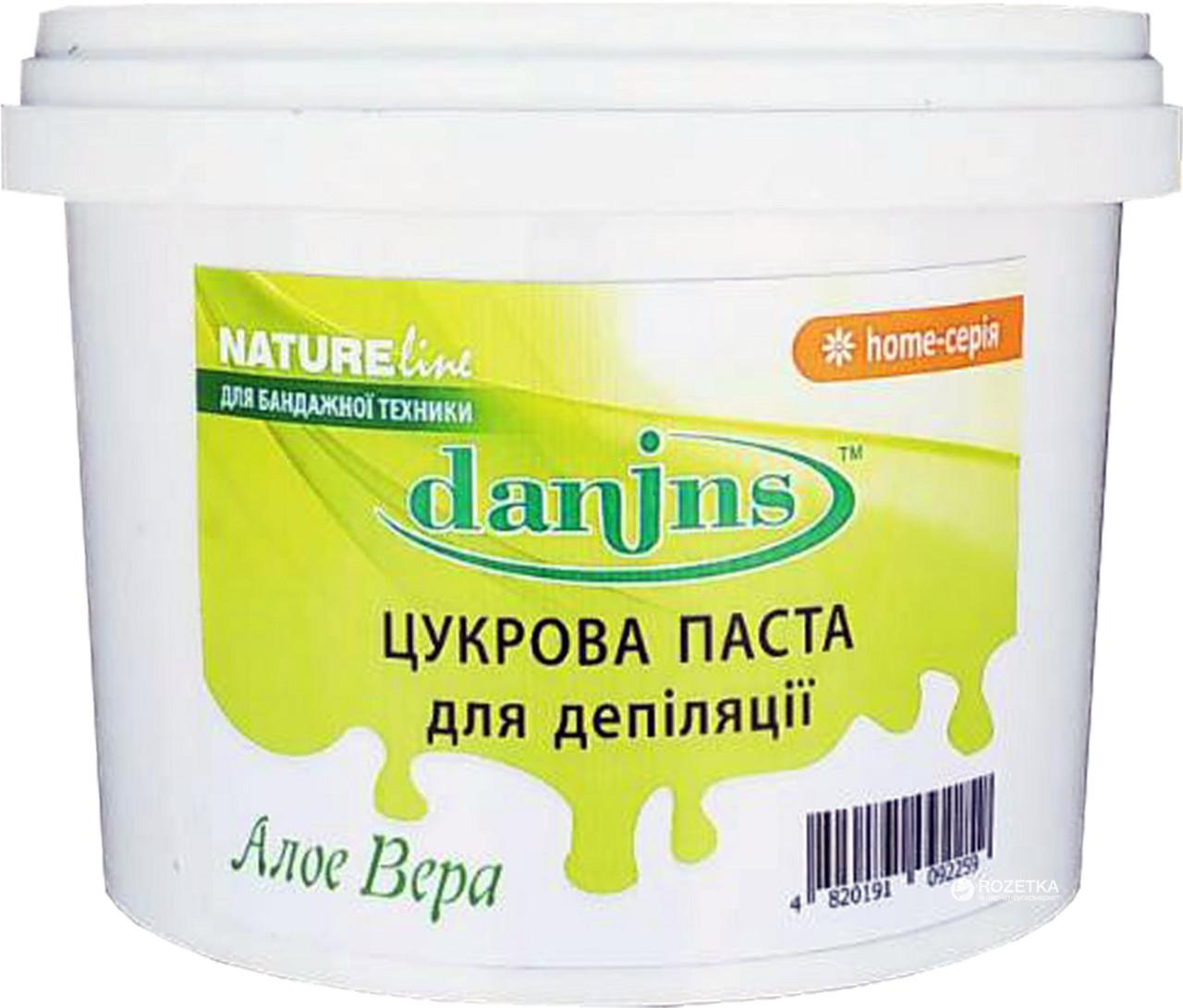 Сахарная паста для депиляции Danins Алое Вера