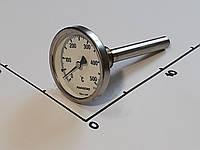 "Термометр Ø63мм / 500°С / L-110 мм 1/2"" стержневой PAKKENS (Турция)"