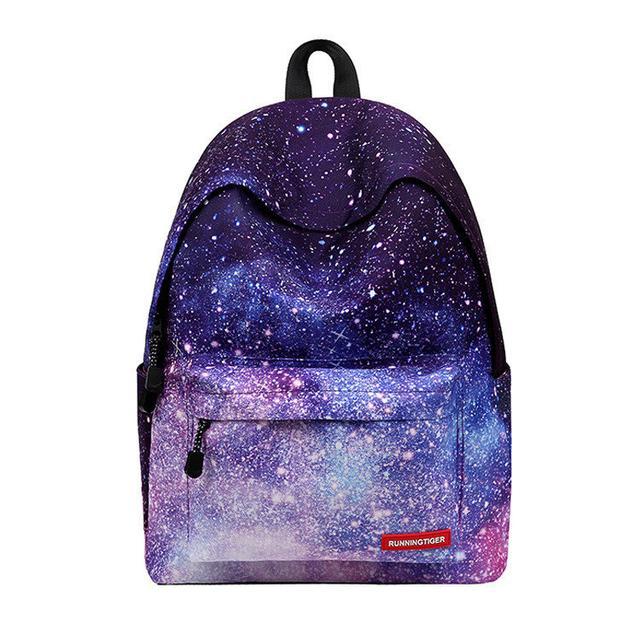 Школьный рюкзак с принтом космоса