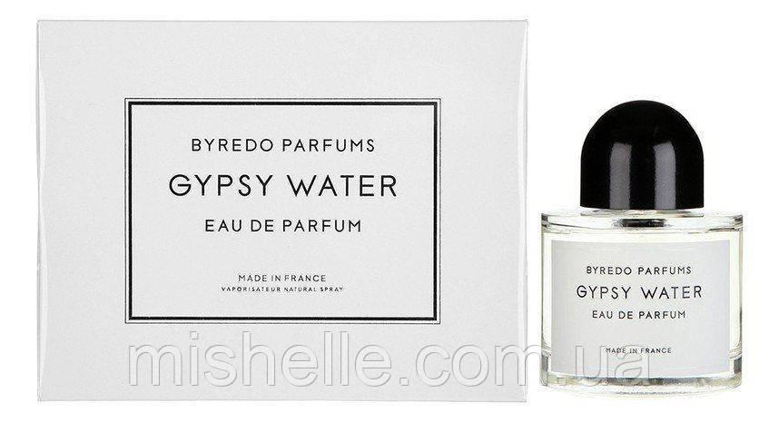 Парфум унісекс Byredo Gypsy Water 50мл ( Буредо в подарунковій упаковці)