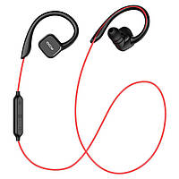Беспроводные Bluetooth наушники QCY QY13 (Черно-красный)